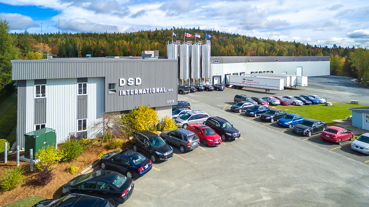 DSD International, bâtiment Thetford Mines