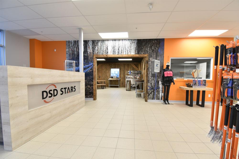 DSD STARS Thetford intérieur