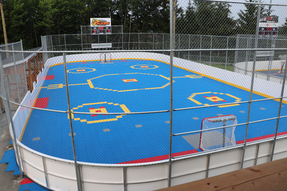 Surface de Dek Hockey à Thetford mines